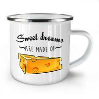 Sweet Dreams Cheese NEW Enamel Tea Mug 10 oz | Wellcoda
