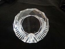 VINTAGE STC Lead Crystal  Faceted PAPERWEIGHT
