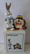 Warner Brothers 1993  Bugs Bunny and Tasmanian Devil Salt and Pepper MIB #A624