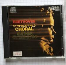 Beethoven Symphony 9 Choral DENON JAPAN CD 38C37-7021 Suitner
