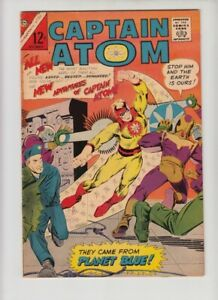 CAPTAIN ATOM #78 FN/VF ORIGIN RE-TOLD, SERIES BEGINS!!