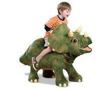 "Playskool Kota My Triceratops Ride On Animatronic Life-Size Baby Dinosaur 45""X30"