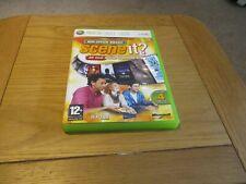 "XBOX 360 GAME "" SCENE IT ? "" OFFICE BOX SMASH - GAME & BOOK ONLY, ORIGINAL CASE"