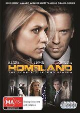 Homeland - Season 2, 2013 Drama Claire Danes DVD NEW