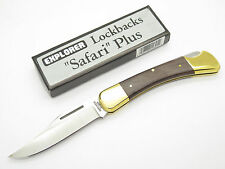 VTG EXPLORER 11-305 SEKI JAPAN FOLDING HUNTER LOCKBACK KNIFE in BUCK 110 STYLE