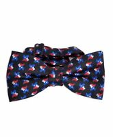 Texas Flag & Map Banded Bow Tie (NFB10018)