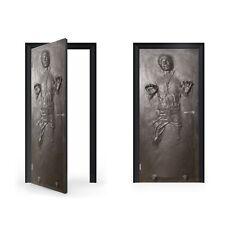 Han Solo en Carbonita Pegatina de Vinilo para puerta/doorwrap/Piel De Puerta/Puerta St...