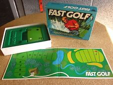 FAST GOLF family Card Game course 1977 putting Whitman incomplete