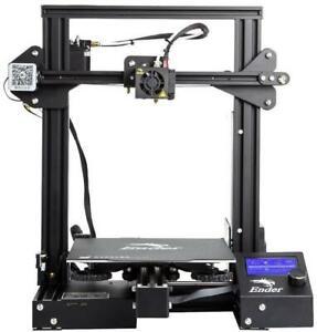 Creality Ender-3 Pro 3D Printer, Build Area: 220x220x250mm, Software: Cura