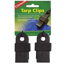 Coghlans Tarp clips - accesorio para tienda de Campaña color negro
