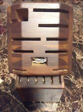 Zwilling Ja Henckels New 16 Piece Brown Knife Block Open Stock Sbg 35093-316