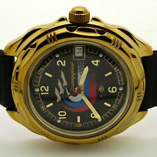 RUSSIAN  VOSTOK (# 219260 ) MILITARY WRIST WATCH KOMANDIRSKIE  (BRAND NEW)