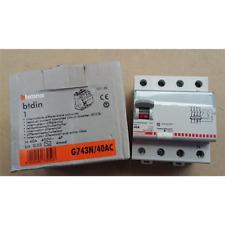 BTICINO DIFFERENZIALE PURO AC 4P 40A 30MA 0,03A G743N/40AC SALVAVITA
