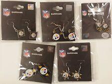 Pennant Flag Lot 5 Pittsburgh Steelers Dangle Earrings Jewelry Set Hook