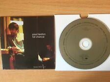 "PAUL HEATON- ""Fat Chance""- Rare Promo Only CD 2002-BEAUTIFUL SOUTH-NEW"