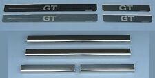 VW Golf Mk6 GT (09 - 12) 4 Door Stainless Steel Sill Protectors / Kick Plates