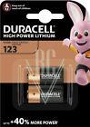 Duracell Fotobatterie 123 CR123 CR17345 3V, 2er Pack