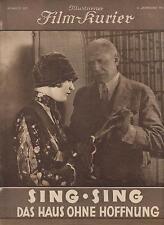 SING SING - HAUS OHNE HOFFNUNG (BFK 685, 1927) - JOHN WALKER - STUMMFILM