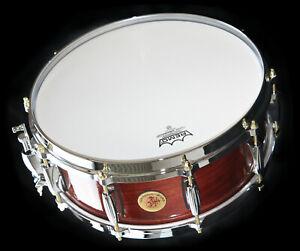 """Buchenholz Custom Snare Drum 14"""" mal 5,5""""       Namdemun Drums Stuttgart"""