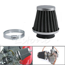 50MM Intake Refit Air Filter Cleaner Clamp-on Fit for Motorcycle Scooter ATV New