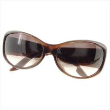 Dior sunglasses Brown Gold Plastic Gold Hardware Woman Authentic Used D1976