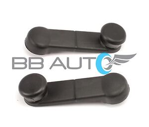 2 INSIDE MANUAL WINDOW CRANK HANDLES FOR 92-96 FORD BRONCO F150 F250 F350 TRUCK