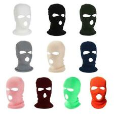 2020 Halloween 3-Hole Knitted Full Face Cover Winter Warm Balaclava Hat Headwear