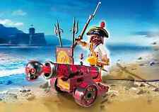 Playmobil Piratas Ref 6163 Capitan Pirata con Cañon y Accesorios, NUEVO Caja