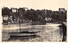 B94614 thonon les bains un coin du port real photo switzerland
