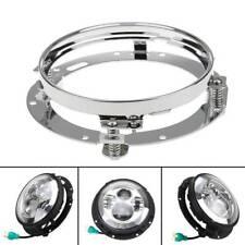 "Fit Jeep Wrangler Harley 7"" Inch LED Headlight Round Ring Mounting Bracket Hot"