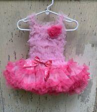 Popatu Dress NWT 12mo Pink Tutu Baby Picture Birthday Portrait Party One Piece