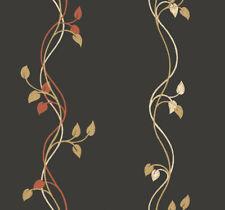 Antonina Vella Vines on Black Wallpaper GK8669