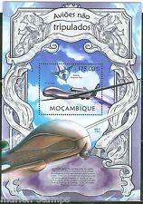 MOZAMBIQUE 2013  DRONES  SOUVENIR  SHEET MINT NH