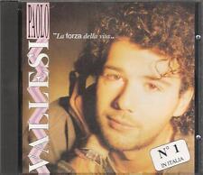 """PAOLO VALLESI - RARO CDs PROMO 1992 """" LA FORZA DELLA VITA """""""
