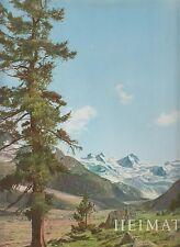 Heimat - Wandern und Schauen in Berg und Tal (2 großformatige Bände)  um 1960