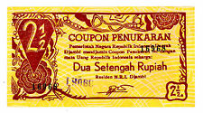 Indonesia ... P-S264 ... 2 1/2 Rupiah ... 1947 ... *XF+*