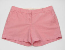 """J Crew Womens Shorts 6  5"""" Inseam Oxford Pink 100% Cotton Style A1544"""