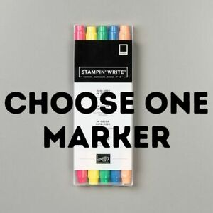 Stampin' Up! Stampin' Write Markers 2018-2020 IN COLORS - CHOOSE ONE COLOR - NEW