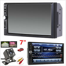 7inch 2DIN In-dash Car MP5 Player Bluetooth Touch Screen Stereo Radio FM +Camera