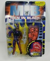 Men In Black MIB Flame-Blastin Jay vs Scorched Alien Action Figure Galoob 1997