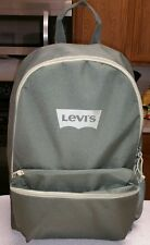 Levi's Army Green Lightweight Backpack 77170 0037 School Laptop Tablet
