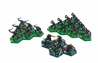 Sabertooth Games Lord of the Rings Combat Hex Moria Goblins Bundle