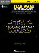 STAR WARS-THE FORCE AWAKENS--INSTRUMENT PLAY-ALONG-TRUMPET MUSIC BOOK/ACCESS NEW
