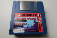 Zero Magazine Duel Format Cover Disk Amiga PC Another World & Video Kids working