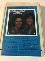 Donny and Marie Osmond  make the word go away   8track