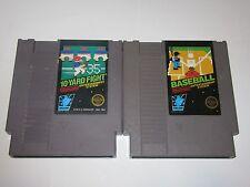 Nintendo NES Lot of 2 Black Box Games