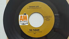 """THE PARADE - Sunshine Girl / This Old Melody 1967 POP PSYCH Jerry Riopelle 7"""""""