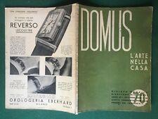 DOMUS n.70 (1933) Rivista Architettura GIO PONTI RAVA OROLOGI Magazine
