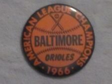 1966 PM10 BASEBALL STADIUM PIN/COIN BALTIMORE ORIOLES WORLD SERIES  3 1/2 in.