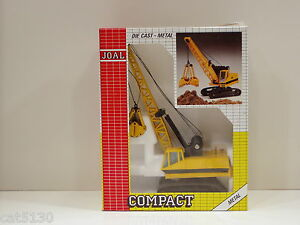 Caterpillar 225 Digging Crane - o/c - 1/50 - Joal #225 - MIB